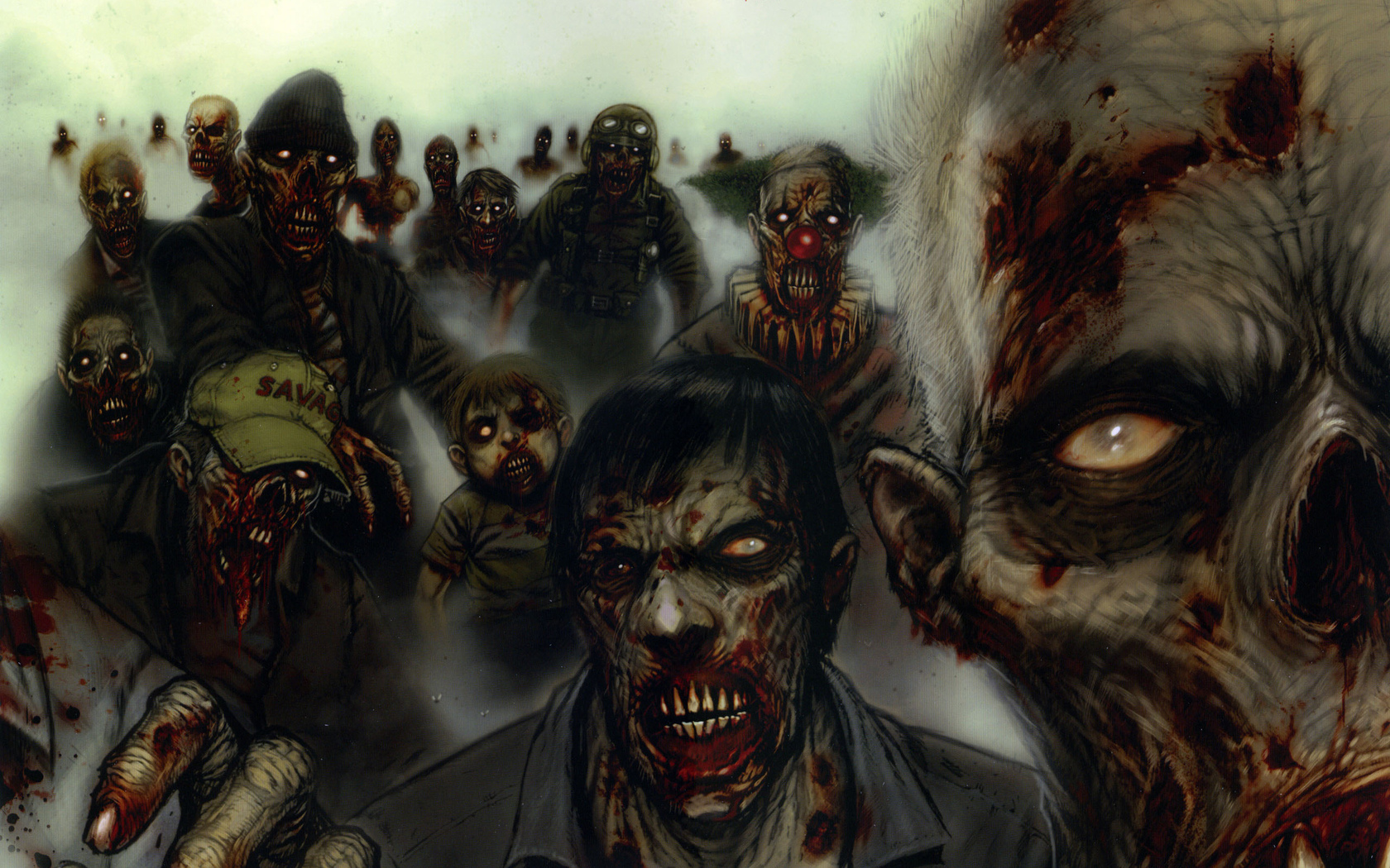 18261 1 miscellaneous digital art zombies