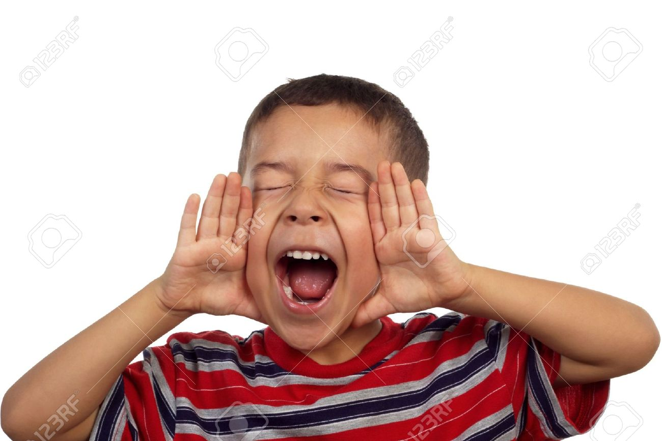 636116614866295366 1536671821 3775658 Hispanic boy yelling or screaming 5 years old Stock Photo kid