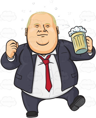 beer drinking overweight businessman 327x400