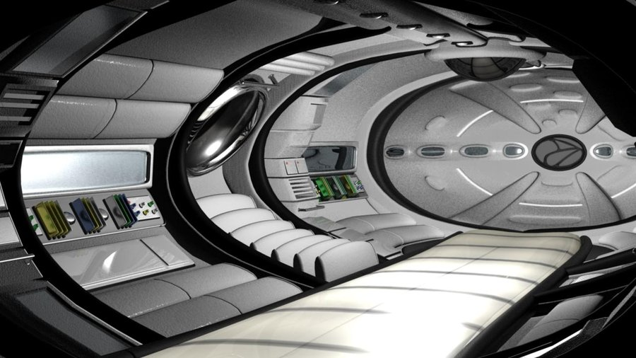 spaceship interior at endpoint by ditroi d2y0psk